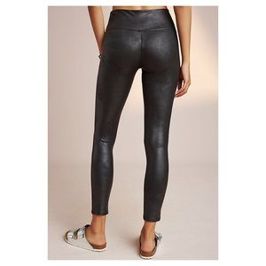 b4365719b5f86a Anthropologie Pants - Anthropologie Spanx Faux Leather Leggings NWT